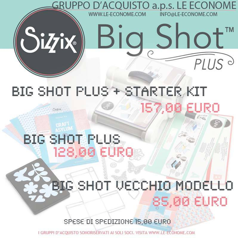 big shot plus + starter kit